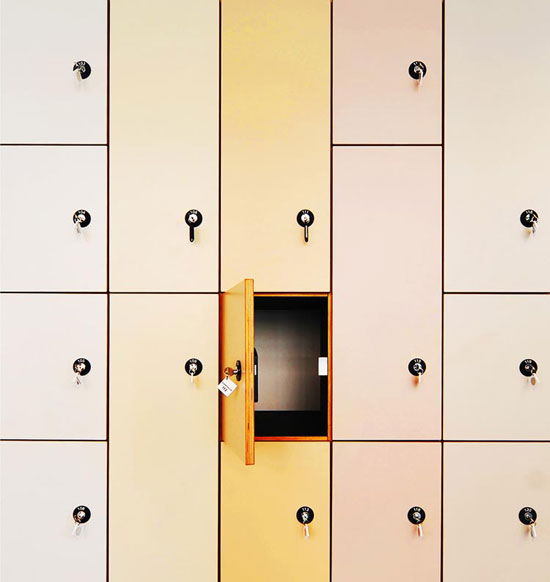 Empty safe Abstract Photography