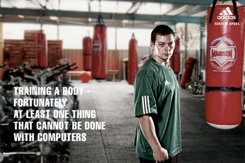adidas print advertisement training a body 3