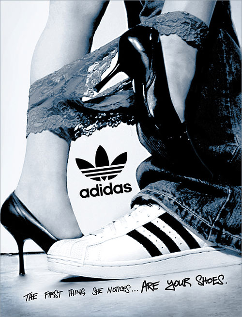 adidas print advertisement all day i dream about sex
