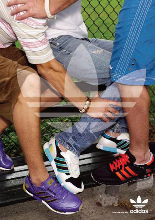 adidas print advertisement footwear