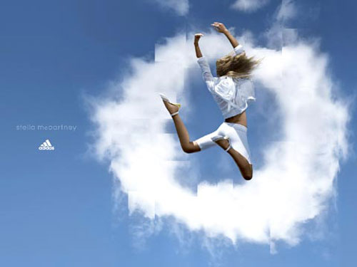 adidas print advertisement gym