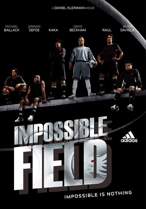 adidas print advertisement impossible field