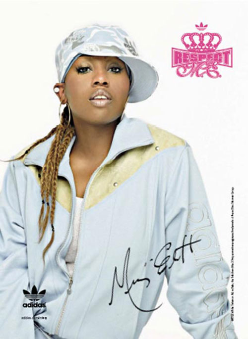 adidas print advertisement missy elliot
