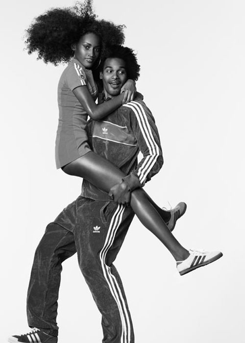 adidas print advertisement celebrate couple