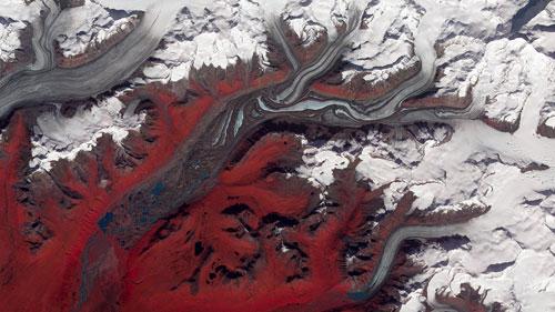 Alaska's Susitna Glacier