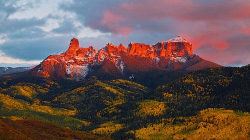Cimarron Mountains, Ouray, Colorado