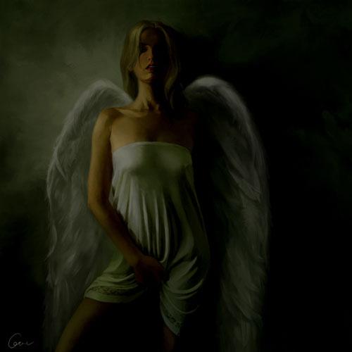 Fallen Angel drawing illustration