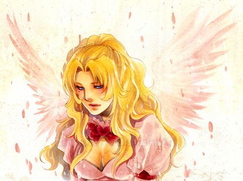 Seraphim drawing illustration