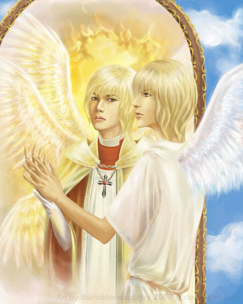The Archangel drawing illustration