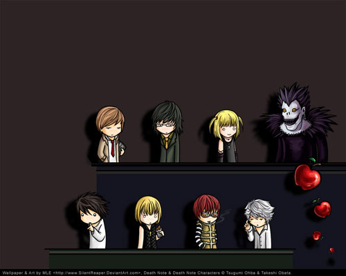 Death Note Chibi wallpaper