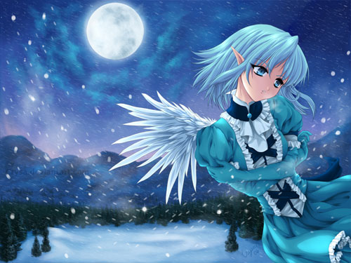 Winter S Peace By Crysa 152 Anime Wallpaper Examples For Your Desktop Background