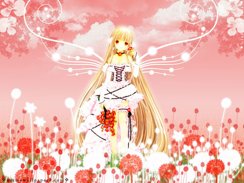 Chobits anime wallpaper