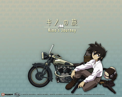 Kino's Journey anime wallpaper