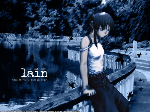 Serial Experiments Lain anime wallpaper