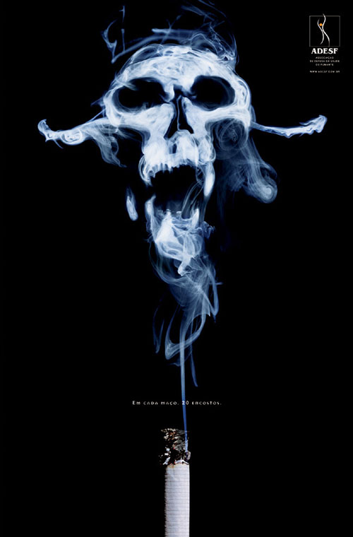 ADESF anti-smoking campaign