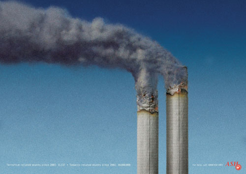 Terrorist related deaths since 2011: 11,337. Tobacco related deaths since 2001: 30,000,000