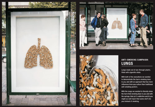 Cancer Society Of Finland Print Advertisement