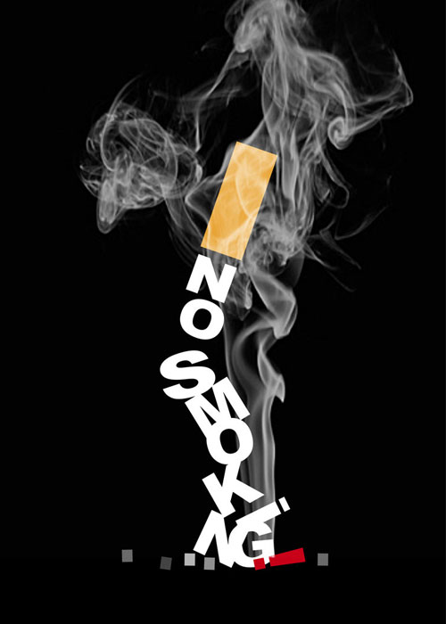 No smoking Poster Print Advertisement