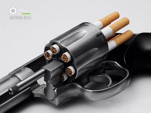 SMOKING KILLS Print Advertisement