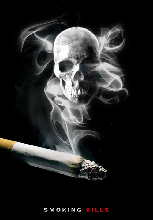 SMOKING KILLS 4 Print Advertisement