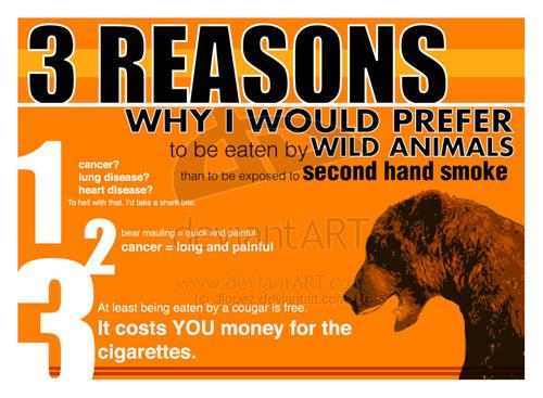 Anti-smoking handout