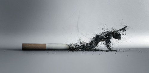 The Smoke Print Advertisement