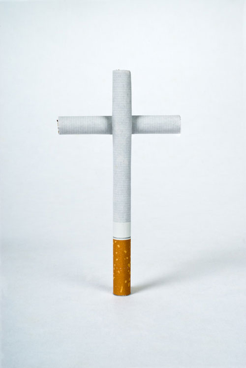 Smoking kills 3 Print Advertisement