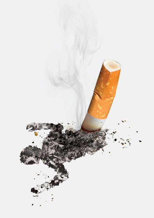 smoking kills 2 Print Advertisement