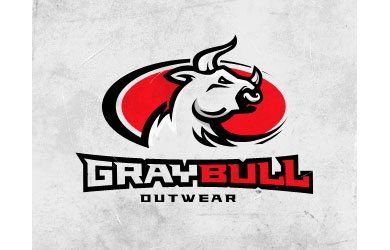 Gray Bull Logo