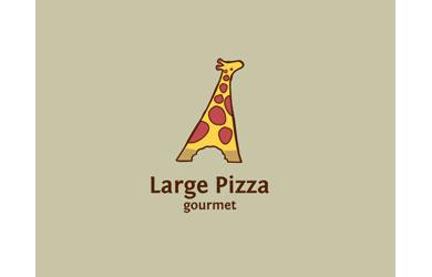 Large Pizza Logo