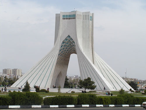 Azadi Tower - Tehran, Iran architecture