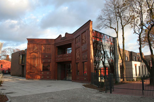 Baj Pomorski Theatre - Torun, Poland architecture