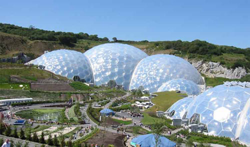 Eden Project - Dubai, UAE architecture