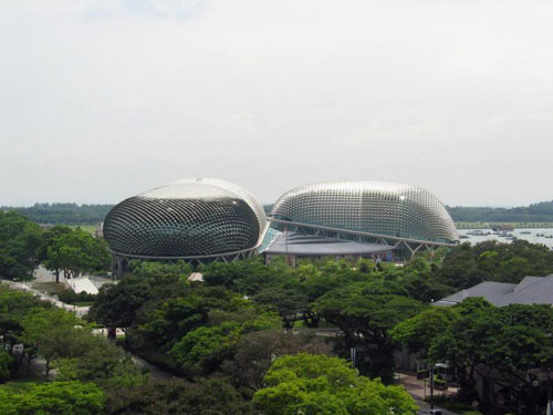 Esplanade Theatres - Singapore architecture