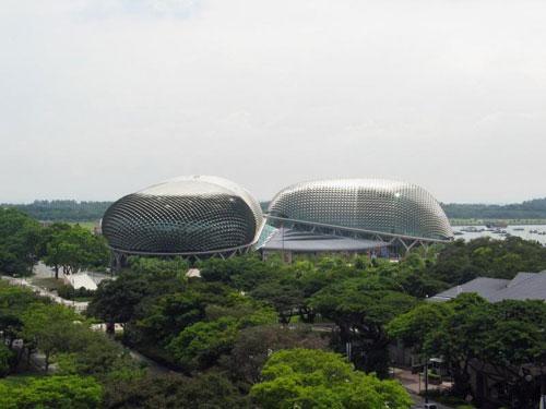 Esplanade Theatres - Singapore architecture