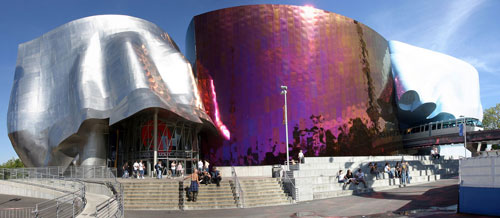 Experience Music Project - Seattle, USA architecture