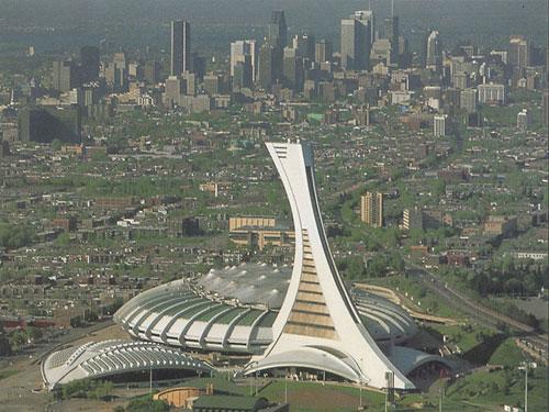 Olympic Stadium - Montreal, Canada architecture