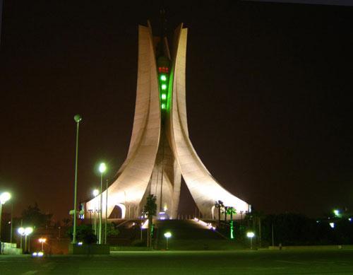 Monument des Maryrs - Algiers, Algeria architecture