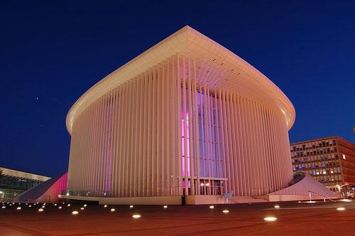 Philharmonie - Luxembourg architecture