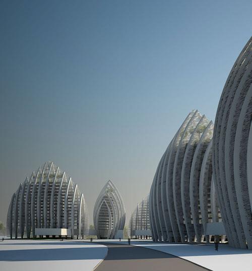 Putrajaya Waterfront - Putrajaya, Malaysia architecture