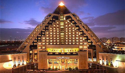 Raffles - Dubai, UAE architecture