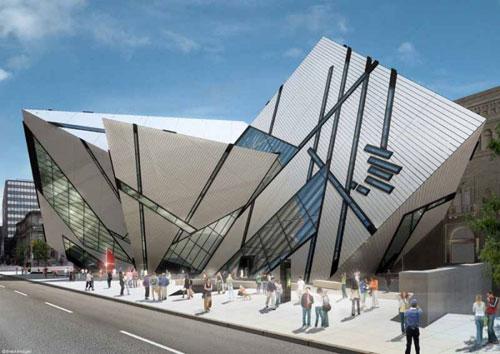 Royal Ontario Museum - Ontario, Canada architecture