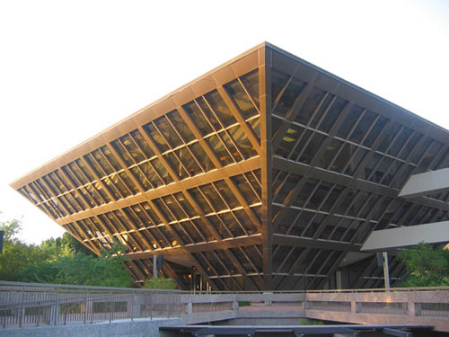 Tempe Municipal Building - Arizona, USA architecture