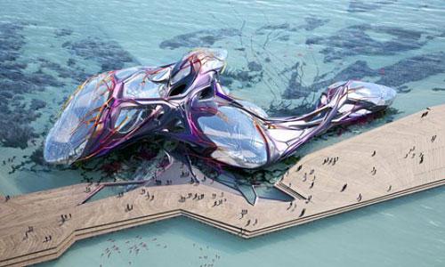 Oceanic Pavilion - Yeosu, South Korea architecture