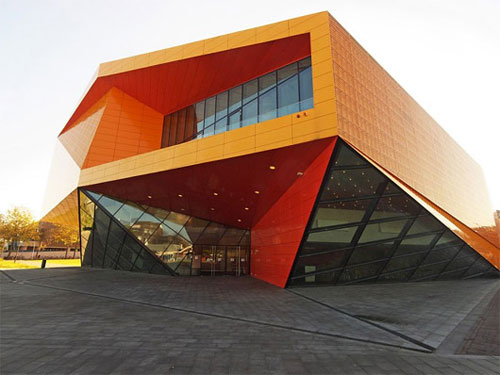 Agora Theatre - Lelystad, Netherlands architecture