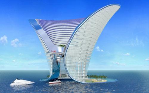 Apeiron Hotel - Dubai, UAE architecture