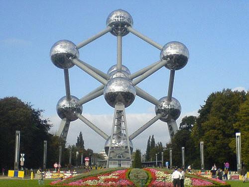 Atomium - Brussels, Belgium architecture