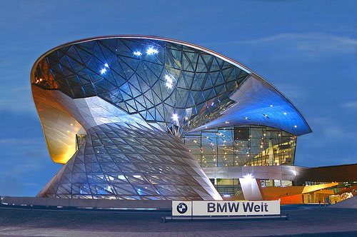BMW - Munich, Germany architecture