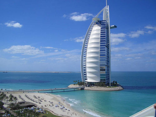 Burj Al Arab - Dubai, UAE architecture