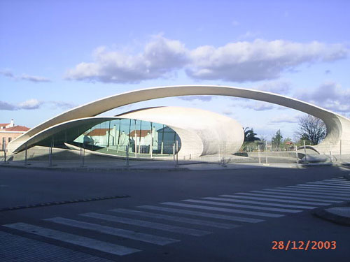 Bus Station - Casar, Spain architecture